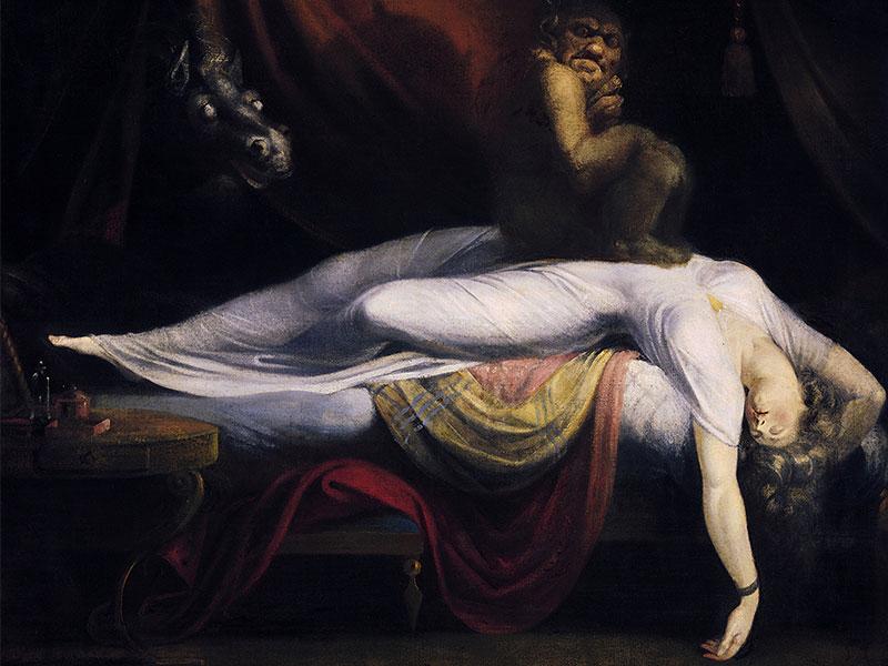 بختک یا فلج خواب چیست و علت وقوع و درمان آن چیست؟